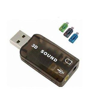 PLACA DE SOM USB P2 XTRAD XT.2026 5.1