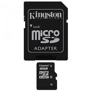 CARTÃO DE MEMORIA MICROSD 16GB SANDISK SDSDQM-008G-B35A