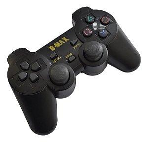 CONTROLE PARA PLAYSTATION 2 SEM FIO B-MAX 2.4GHZ