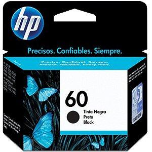 CARTUCHO DE TINTA HP 60 PRETO ORIGINAL CC640WB