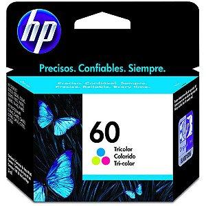 CARTUCHO DE TINTA HP 60 TRICOLOR ORIGINAL CC643WB