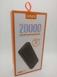 BATERIA EXTERNA POWERBANK KAIDI KD-226 20000MAH