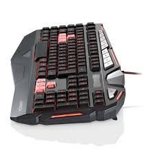 Teclado Gamer Warrior Morani Com Teclas Macro LED - TC209