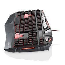 Teclado Gamer Warrior Morani Com Teclas Macro LED - TC209
