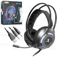 HEADSET GAMER P2 + USB DEX DF-80