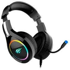 HEADSET GAMER HAVIT H2232D RGB PRETO