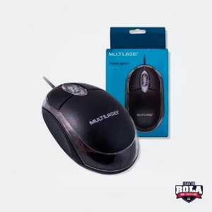 MOUSE OPTICO MO179 MULTILASER 1200 DPI PRETO