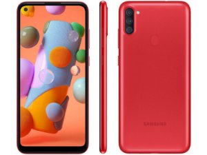 SMARTPHONE SAMSUNG GALAXY A11 64GB VERMELHO