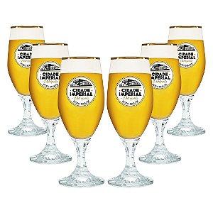 Conjunto com 6 Taças de Cristal Velt 250ml - Cidade Imperial
