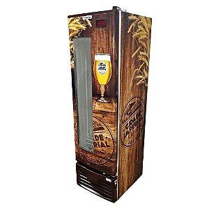 Cervejeira Vertical 1 Porta 284 litros Cerveja Cidade Imperial