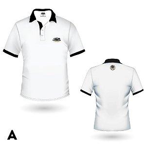 Camiseta MASCULINA Polo Cerveja Cidade Imperial Preta ou Branca Bordado - 5 Modelos