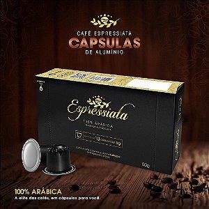 CAFÉ TORRADO E MOÍDO ESPRESSIATA 100% ARÁBICA EM CAPSULA CX C/ 10 CAPSULAS