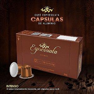 CAFÉ TORRADO E MOÍDO ESPRESSIATA INTENSO EM CAPSULA CX C/ 10 CAPSULAS