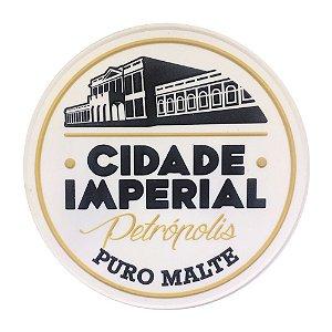 1 Porta Copo de Borracha Cerveja Cidade Imperial
