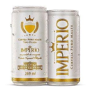 Cerveja Império Puro Malte Tipo Pilsen Lata 269ml