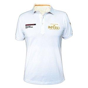 Camiseta MASCULINA Polo Porsche Império com Logo em Alto Relevo 30 ou 105