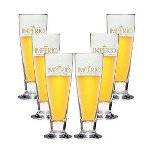 Conjunto com 6 Tulipas Roma 200ml Cerveja Império