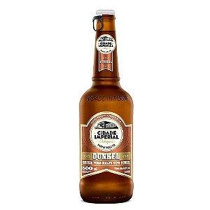 Cerveja Cidade Imperial Dunkel Long Neck 500ml com tampa abre fácil