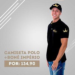 KIT - Camiseta Polo Império + Boné