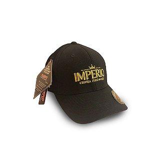 Boné Cerveja Império Preto 105 - Flexfit