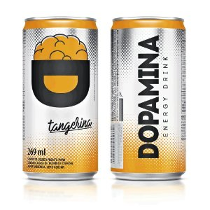 Dopamina Energy Drink 269ml - Tangerina