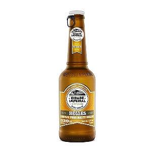 Cerveja Cidade Imperial Helles Long Neck 330ml com tampa abre fácil