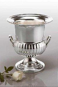 Floreira e Balde para espumante prata
