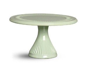 Porta doce cerâmica verde M