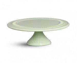 Porta doce cerâmica verde P