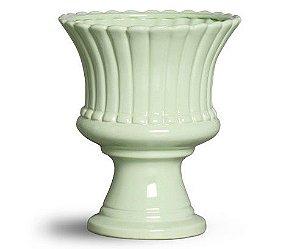 Cachepot cerâmica verde G