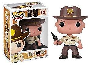 Bonecos Funko Pop Brasil - The Walking Dead - Rick Grimes