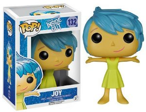 Bonecos Funko Pop Brasil - Disney - Inside out - Joy