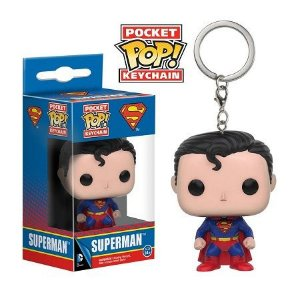 Chaveiro Funko Pocket Pop Brasil - Superman