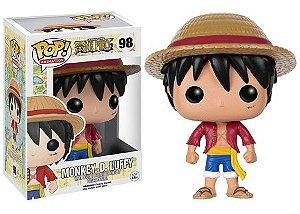Bonecos Funko Pop Brasil - One Piece - Luffy