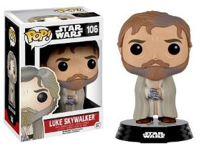 Bonecos Funko Pop Brasil - Star Wars - Luke Skywalker