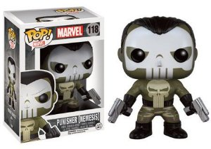 Bonecos Funko Pop Brasil - Marvel - Punisher Nemesis - Exclusive