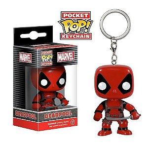 Chaveiro Funko Pocket Pop Brasil - Marvel - Deadpool