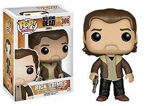 Bonecos Funko Pop Brasil - The Walking Dead - Rick Grimes - Season 5