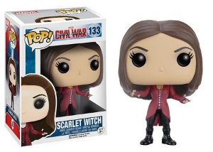 Bonecos Funko Pop Brasil - Marvel - Civil War - Scarlet Witch