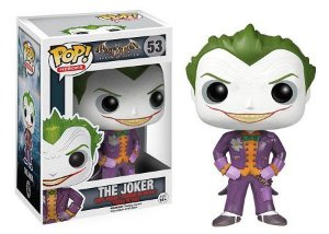 Bonecos Funko Pop Brasil - DC Comics - Arkham Asylum - The Joker