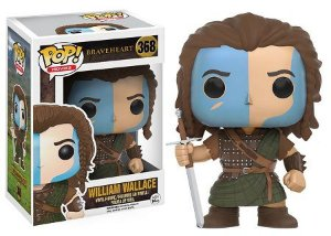 Bonecos Funko Pop Brasil - Braveheart - William Wallace