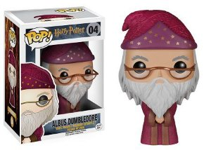 Bonecos Funko Pop Brasil - Harry Potter - Dumbledore