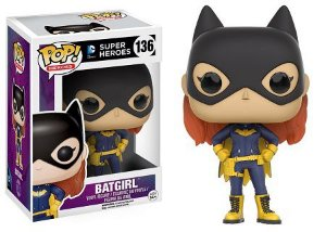 Bonecos Funko Pop Brasil - DC Comics - Batgirl