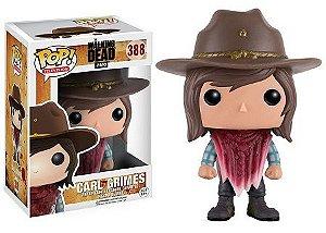 Bonecos Funko Pop Brasil - The Walking Dead - Carl - Season 7