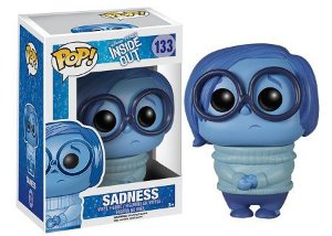 Bonecos Funko Pop Brasil - Disney - Inside out - Sadness