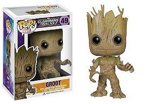Bonecos Funko Pop Brasil - Marvel - Guardians of the Galaxy - Groot