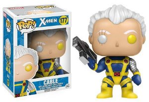 Bonecos Funko Pop Brasil - Marvel - X-Men - Cable