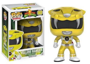 Bonecos Funko Pop Brasil - Power Rangers - Yellow Ranger