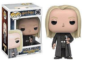 Bonecos Funko Pop Brasil - Harry Potter - Lucius Malfoy