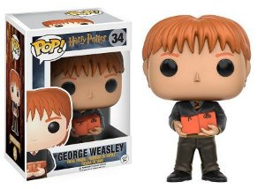 Bonecos Funko Pop Brasil - Harry Potter - George Weasley